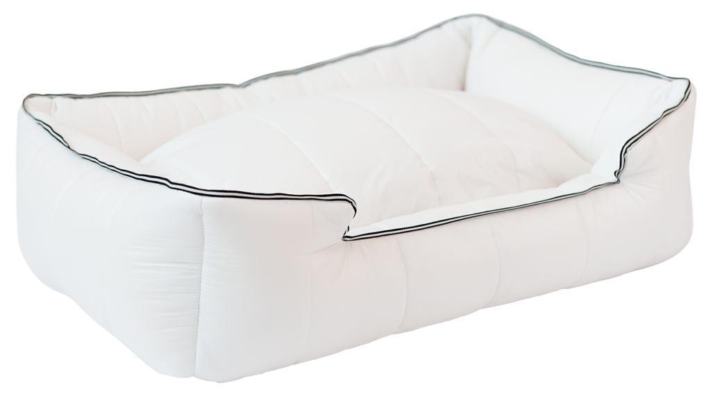The Aspen Dog Bed White From Cece Olli For Dogs With Style We Love That This Gorgeous Bed Is Stain Proof Waterproof Indestructibl Dog Bed Bed Gorgeous Bed
