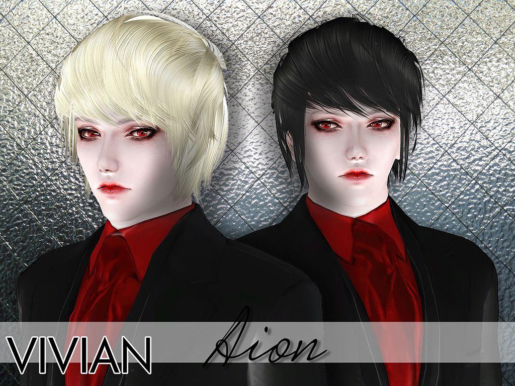 [TS3] VivianDang Aion Hair Sims 3 version finally is