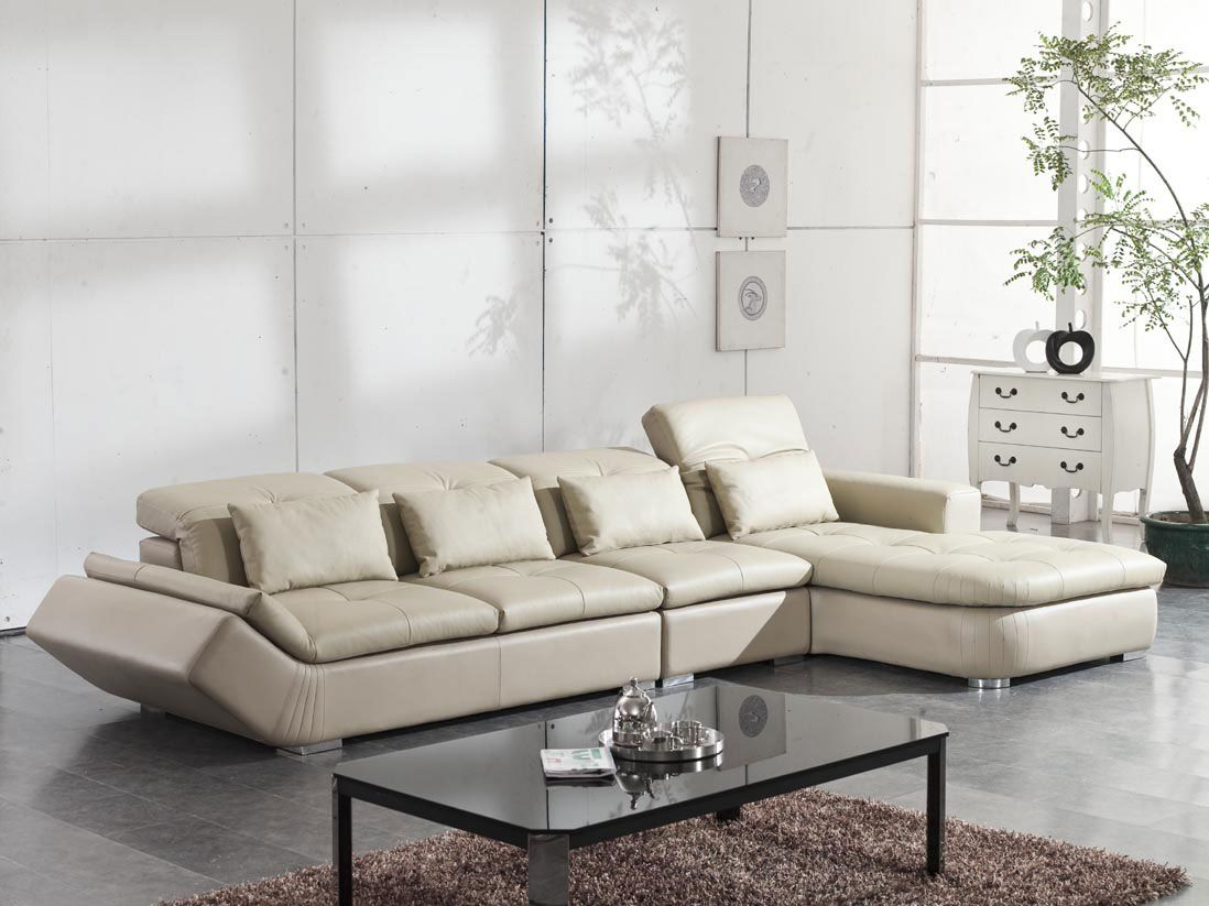 Fabulous L Shaped Sofa Design for Modern Living Room - http://www ...
