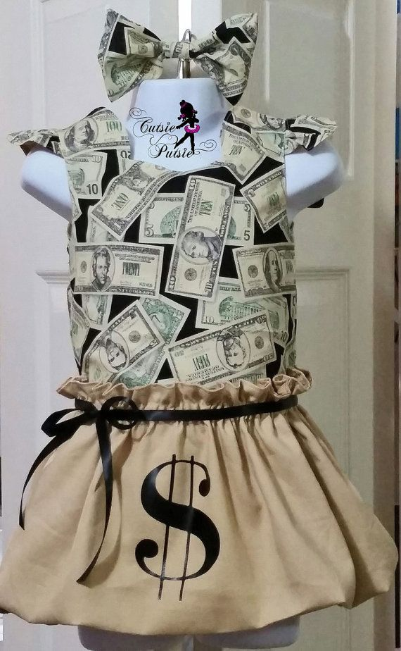 Money Bag Costume By Cutsieputsie