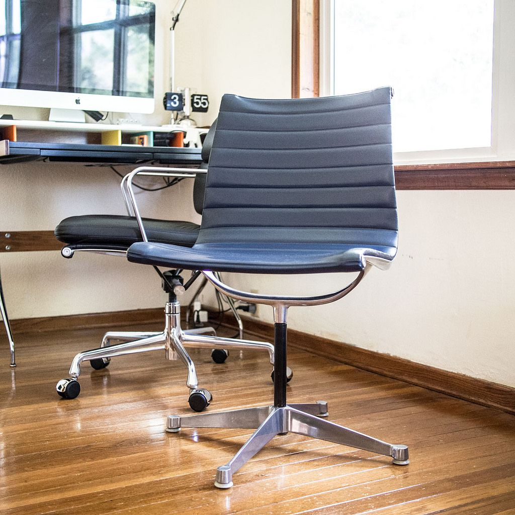 eames aluminum group chair parts