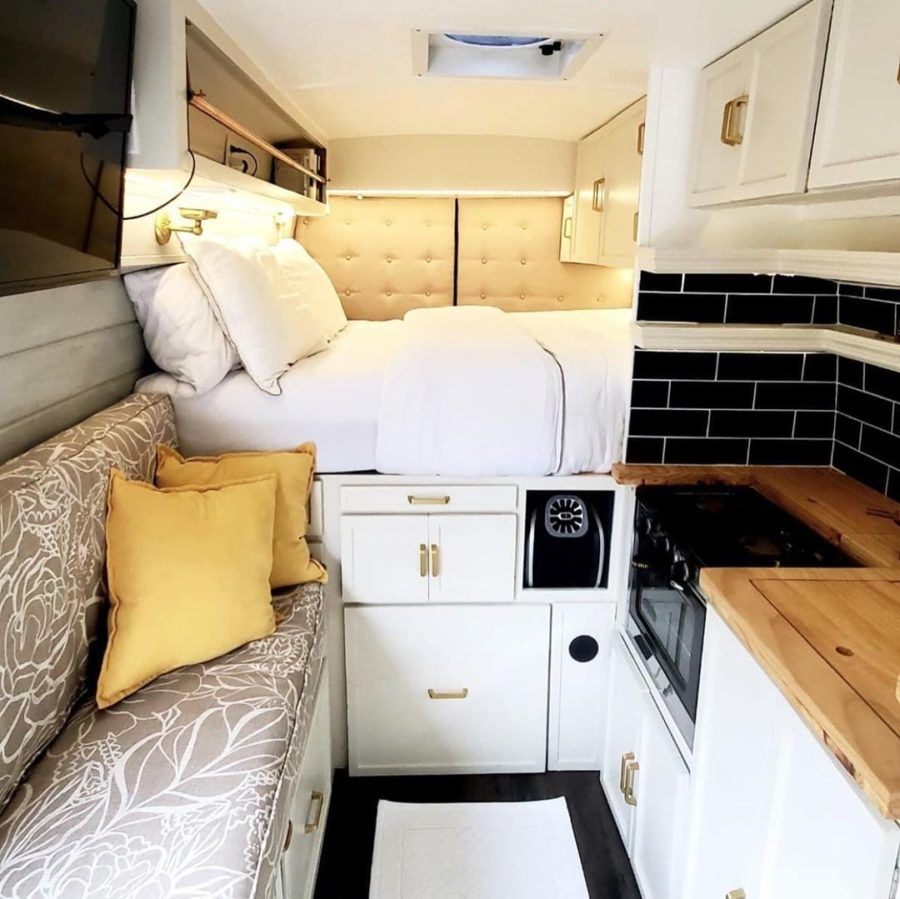 Photo of Oversized Van Conversion with Luxury Shower