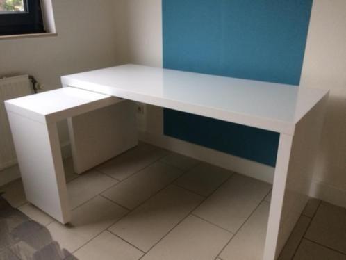 ≥ ikea malm bureau met uittrekbaar blad wit bureaus en