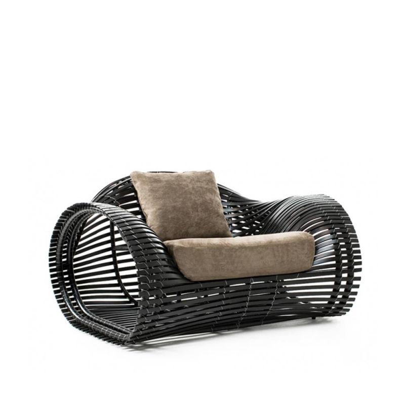 Loungesessel Lolah (brown/whitewash) von Kenneth Cobonpue F u r_C - designer gartenmobel kenneth cobonpue