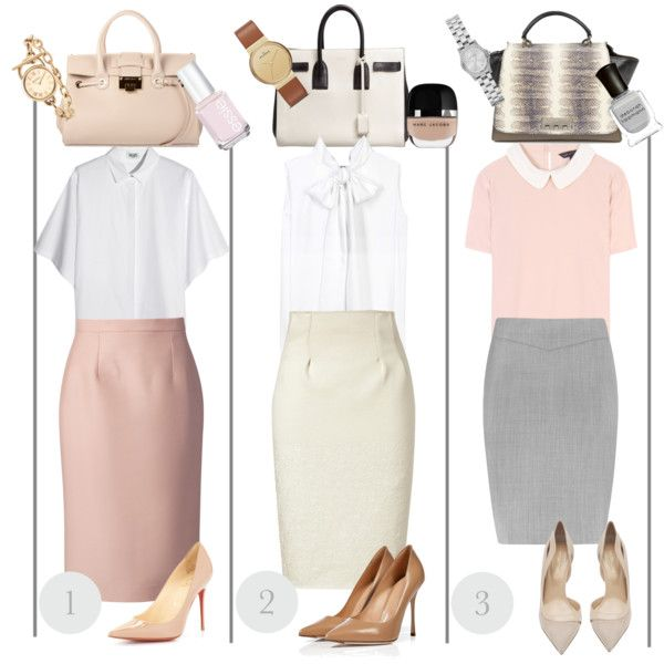 Pastel Rainbows: Neutral work ways., created by camille-romeo on Polyvore