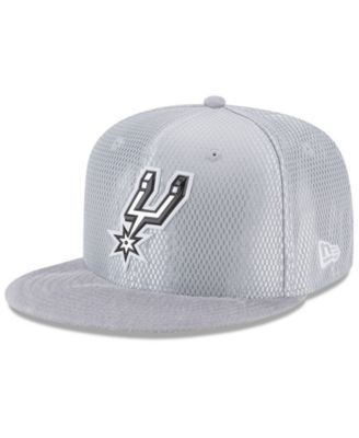 buy popular 36112 a6c02 ... store new era san antonio spurs on court reverse 9fifty snapback cap  gray adjustable c9594 0aaff
