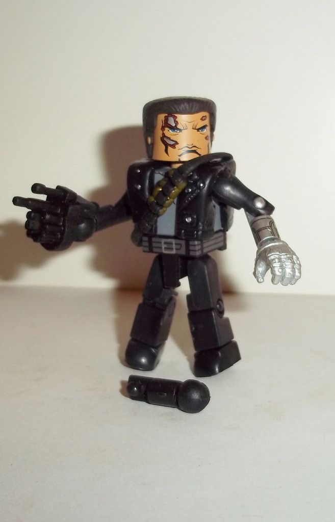 minimates TERMINATOR T-800 combat complete art asylum Arnold swartzenneger mini mates action figures for sale in online store to buy