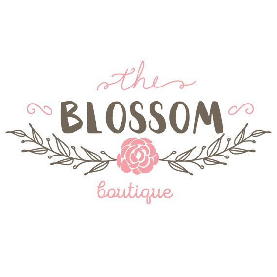Blossom Logo   Etsy Store Logo Design   Premade Logo Designs   Design   Etsy Shops   Boutique Logo   Semi Custom Logo is part of home Logo Ideas - completecustompersonalizedlogodesign ref shop home active 1 In need of complete custom work  Visit www poeticsoupdesign com or I can create a custom logo listing for you  Thank you! Poetic Soup Design
