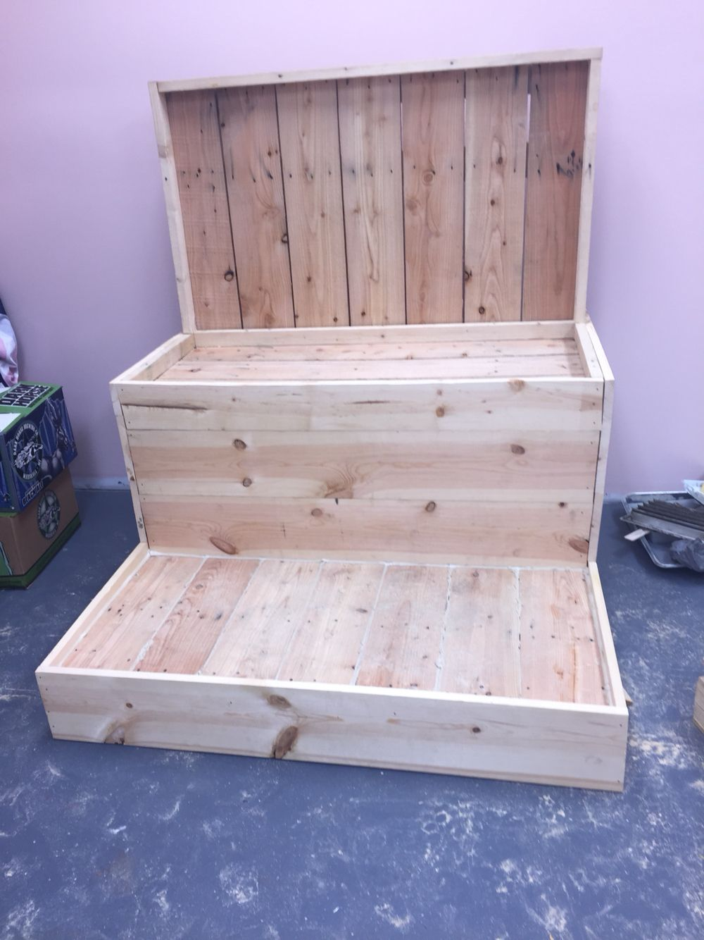 New Pedicure Throne Being Built For Me. …