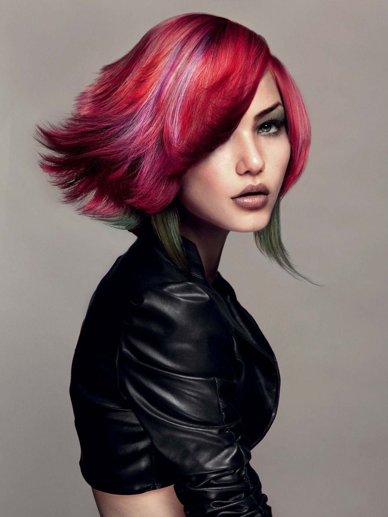 #coloredhair #trend #fashion #beauty