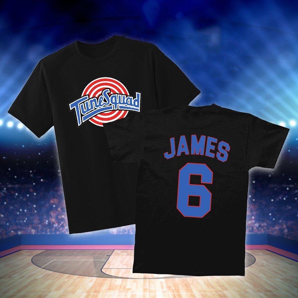premium selection 5a988 6cf55 Space Jam 2 Lebron James T-Shirt ,Tune Squad James T-Shirt ...