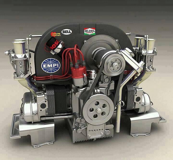 Volkswagen Escarabajo Vochos Vw Sedan Diagrama Motor Parts