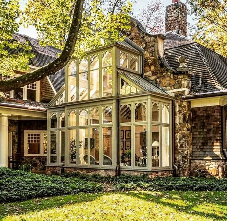 Conservatory Windows Ideas 55 #dreamhouse