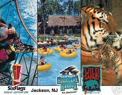 Nj Six Flags Great Adventure Travel Souvenir Flexible Fridge Magnet Six Flags Great Adventure Six Flags Greatest Adventure