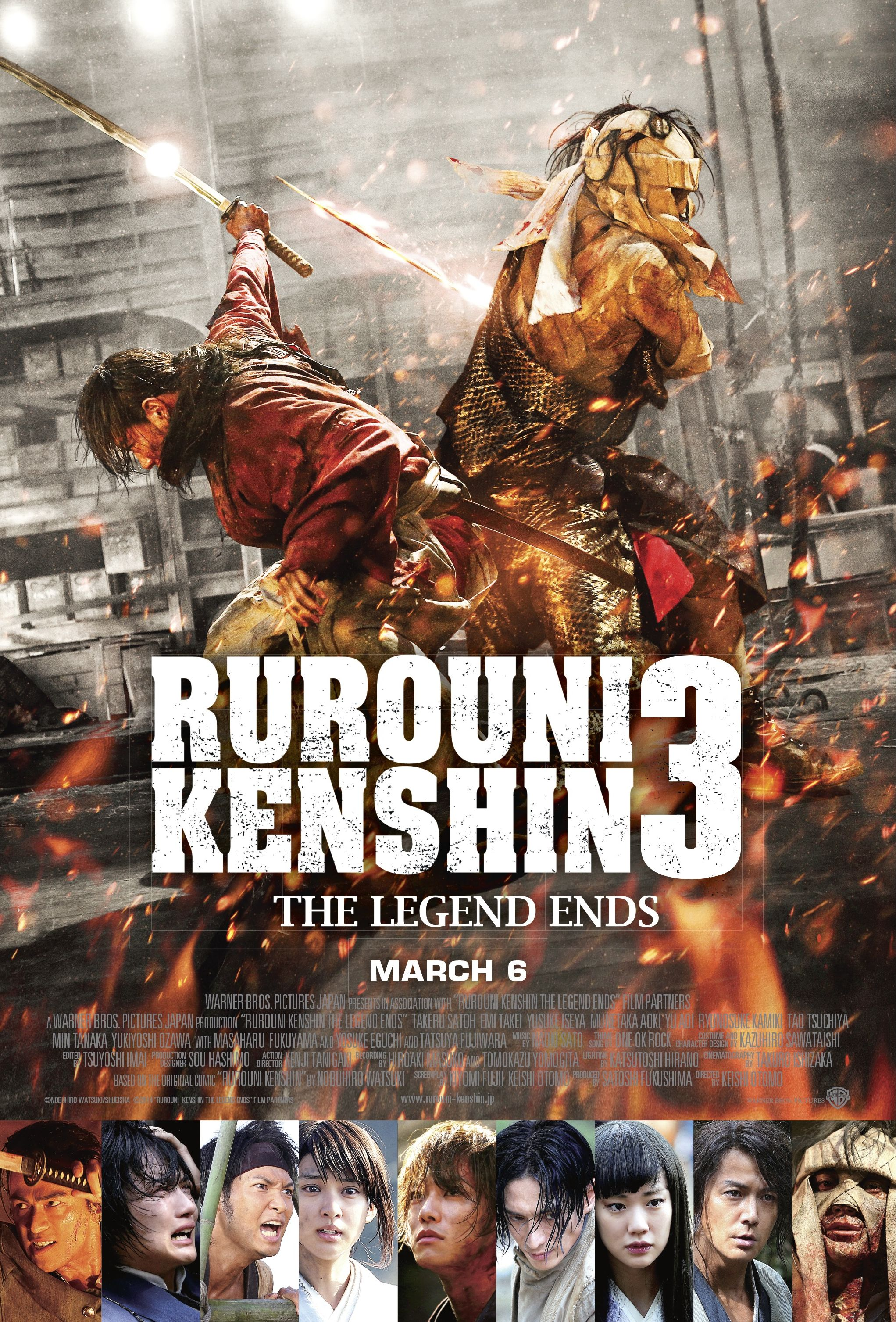 Rorouni Kenshin The Legend Ends Finally, finishing this