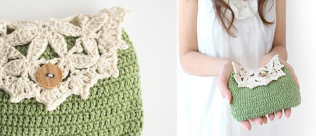 Crochet purse pattern | What to make | Pinterest | Crochet purse ...
