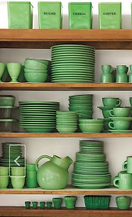 Martha's Jadeite Collection | Jadite Fire King | Green ...