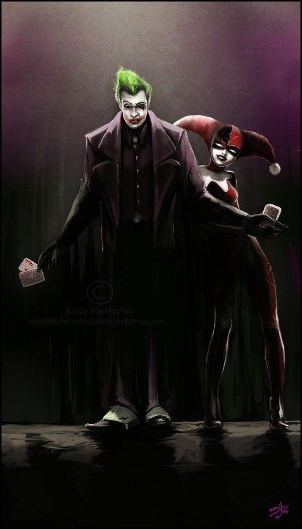 Pin on The Joker&Harlequin