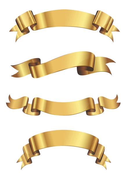 Gold Ribbon Banners There Is A Ton Of Free Clip Art At This Site Ribbon Clipart Ribbon Png Banner Clip Art