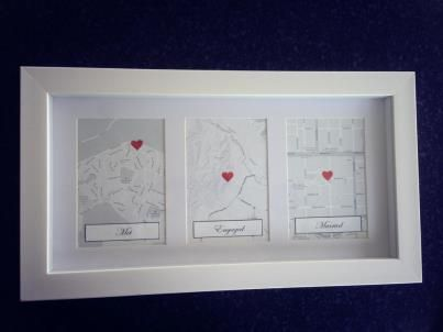 Love This Idea For 1st Wedding Anniversary Present Met