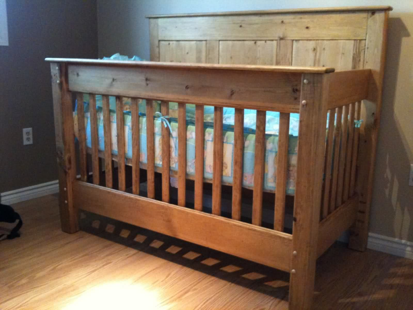 Crib Designs Woodworking Pine Can Be Your Friend If You Treat It