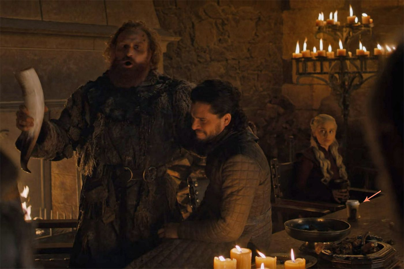 Is that a Starbucks cup in Game of Thrones? The Verge