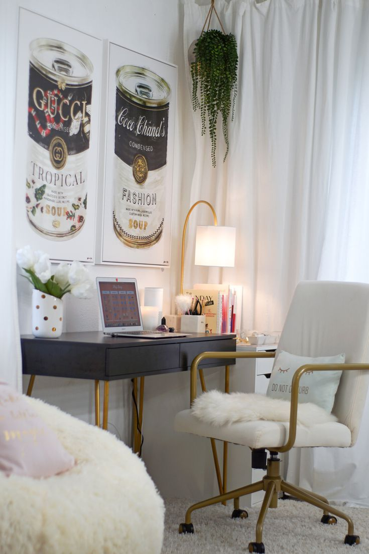 How I Turned My Guest Room Into a Pinterest-Worthy Glam ...