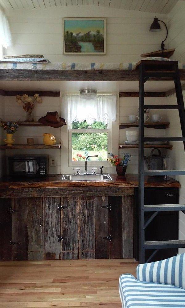 rustikale k che mit altholz k che individuelle einrichten k chen ideen k che gestalten. Black Bedroom Furniture Sets. Home Design Ideas