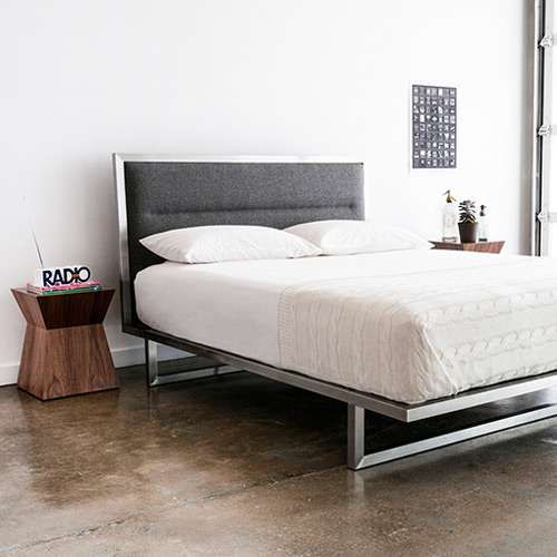 Midway Bed By Gus Modern Yliving Product Features Stainless
