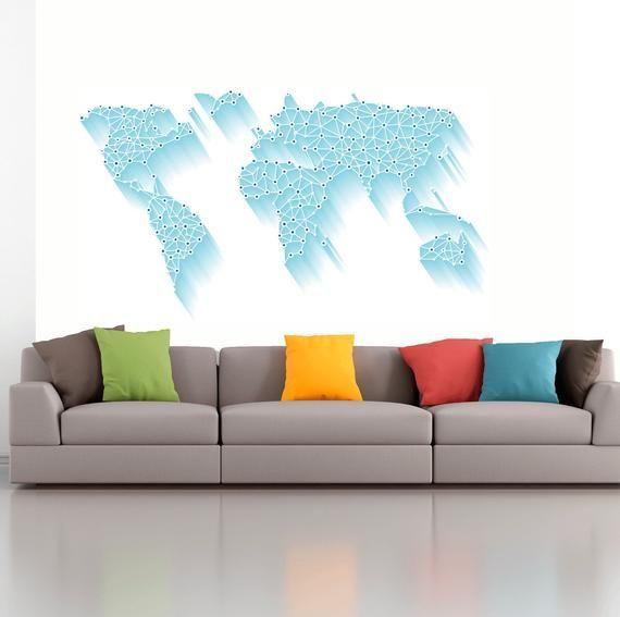 Wall mural world map. Vinyl wallpapers World map blue. Abstract world map wall mural. Wall mural Blue Map of world #worldmapmural Wall mural world map. Vinyl wallpapers World map blue. Abstract world map wall mural. Wall mural Blue Map of world #DigitalGiclee #WallMural #WallDecor #PhotoWallpaper #PanoramicWallDecor #3dModernArt #PaperWallMurals #InteriorDesigneArt #PaperWallMural #ColorfulWallArt #worldmapmural
