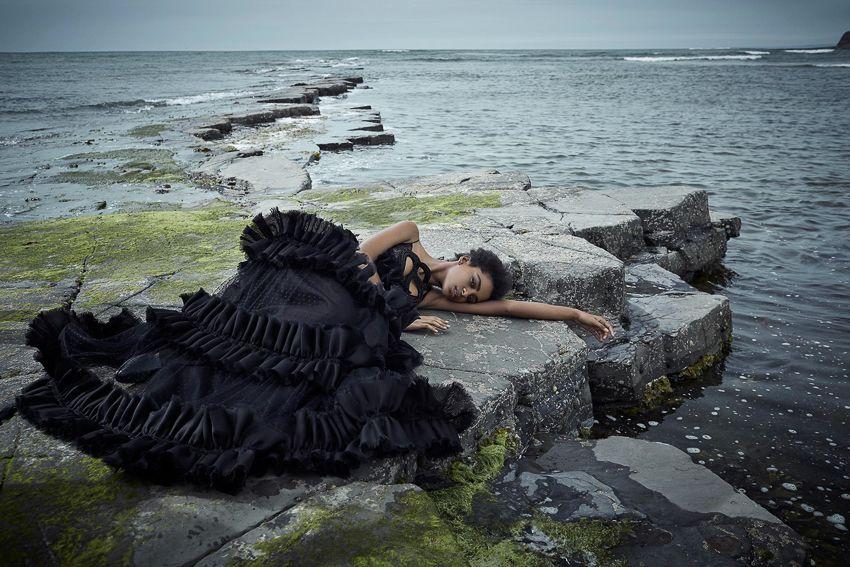 Harpers Bazaar UK September 2016 Alecia Morais by Agata Pospieszynska-11