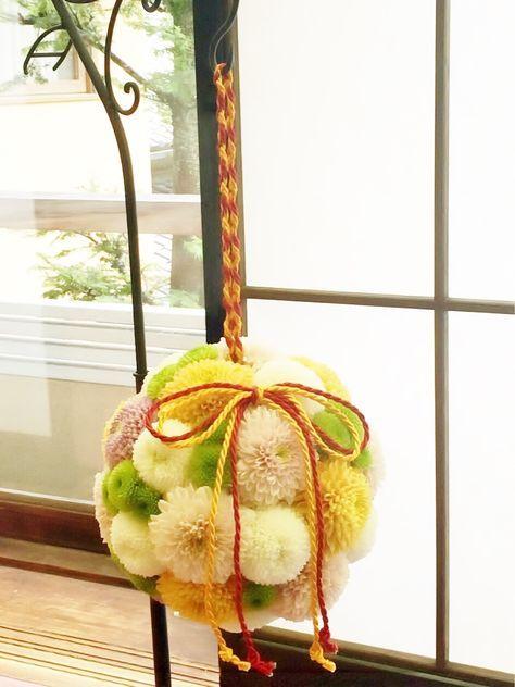 # Vress et Rose # Wedding# Bouquet # natural #Vintage # Flower # Bridal # ブレスエットロゼ #ウエディング #ミックスカラー#和装ブーケ #ビンテージ#ボールブーケ# 和装#花 #菊# ブライダル#結婚式