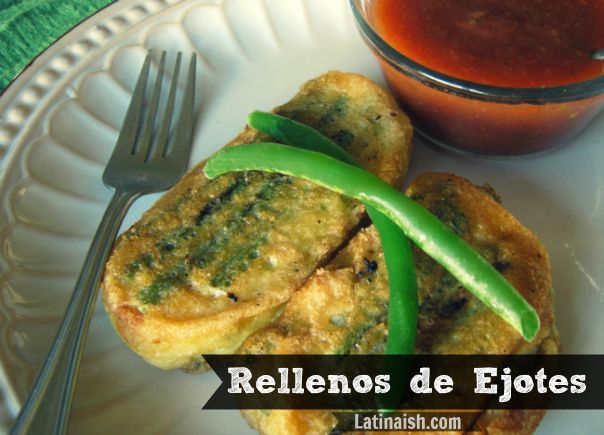 rellenos de ejotes..! ok going crazy home sick..!!! sooo freakin good... missing these delicious recipes..!