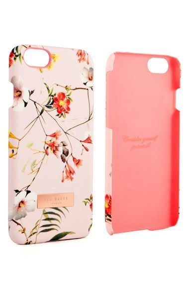 c42c157999f2fc This pink vintage-style Ted Baker phone case is too pretty ...