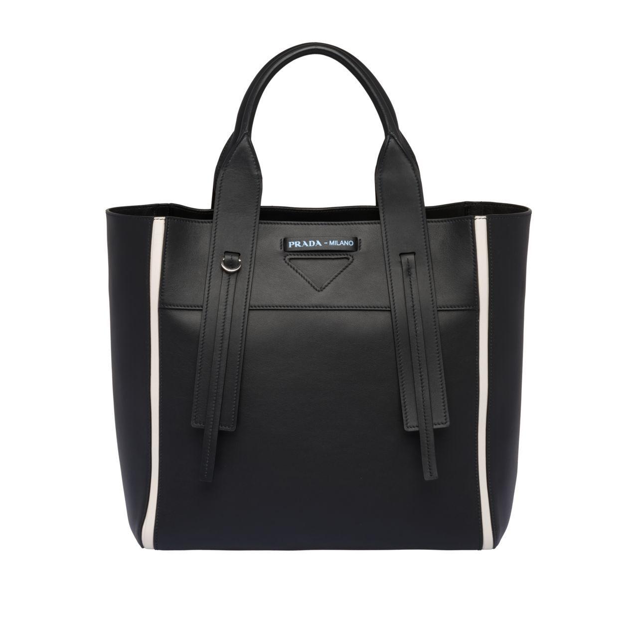 9160cbd8b6b9f5 Borsa Prada Ouverture medium in pelle in 2019   BAGS   Bags, Fashion ...