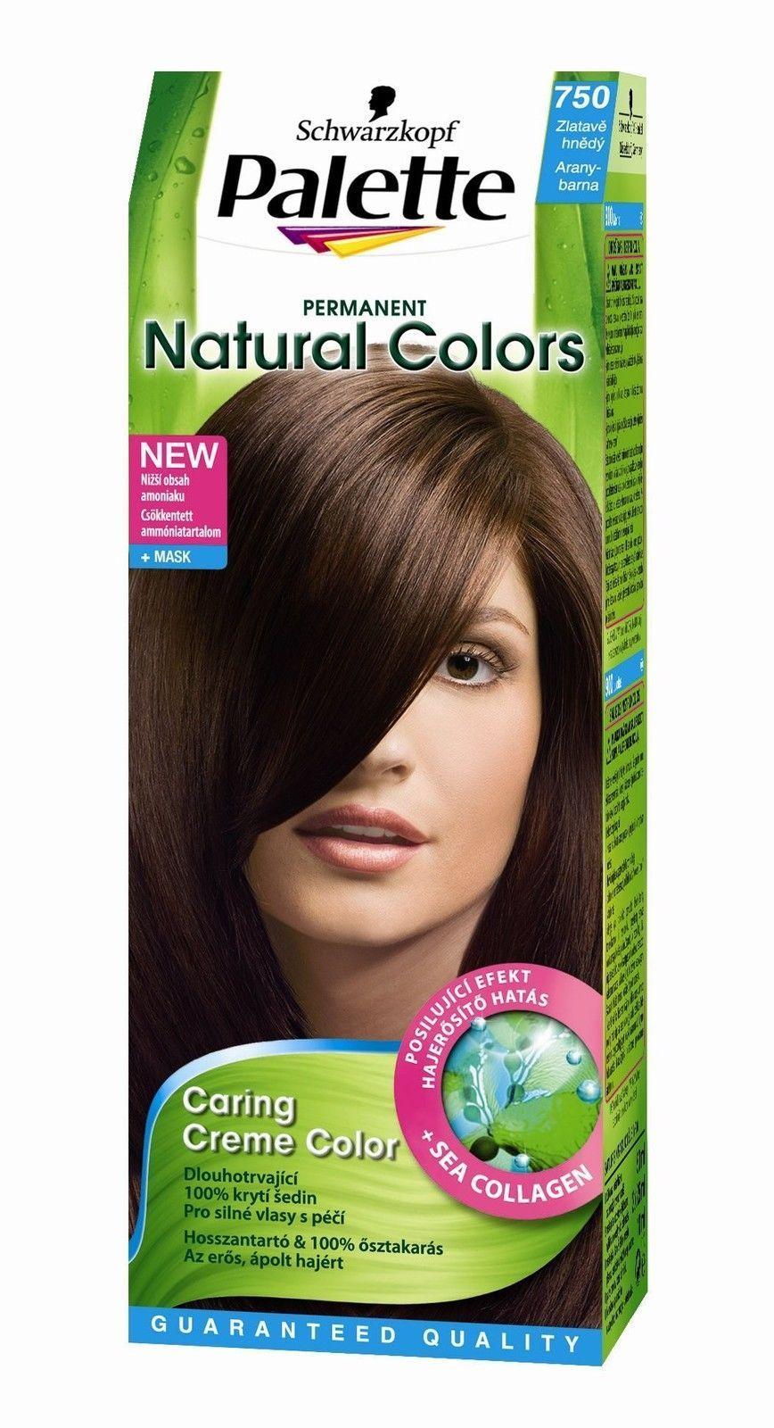 Details About Schwartzkopf Palette Natural Colors750 Golden Brown