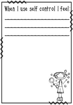 photo about Free Printable Self Control Worksheets called Self Handle Bubbles - A patterns manage coaching software