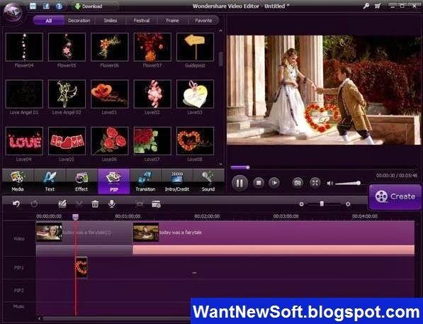 wondershare video editor free full version