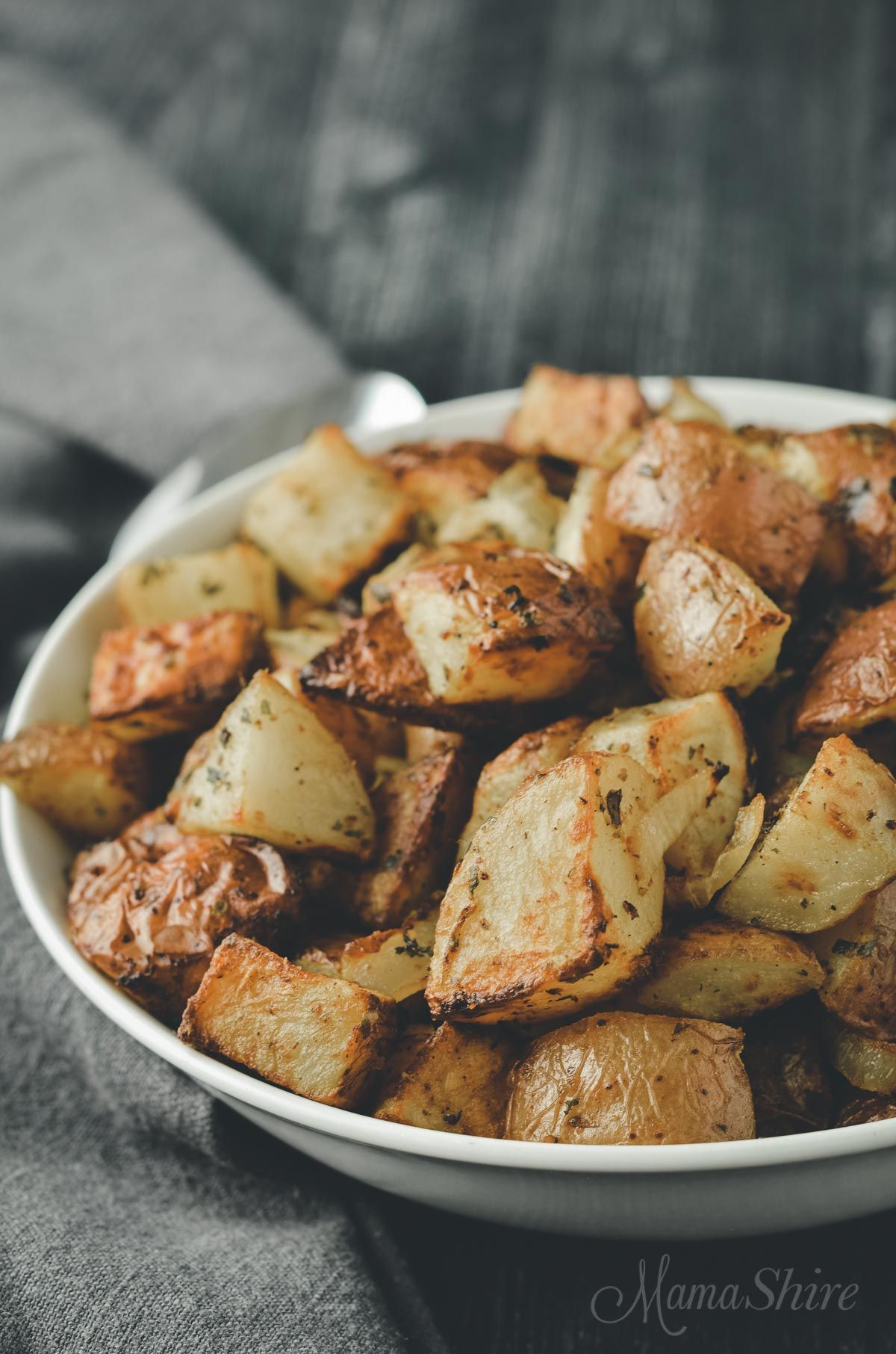 Air fryer roasted red potatoes with parsley recipe red