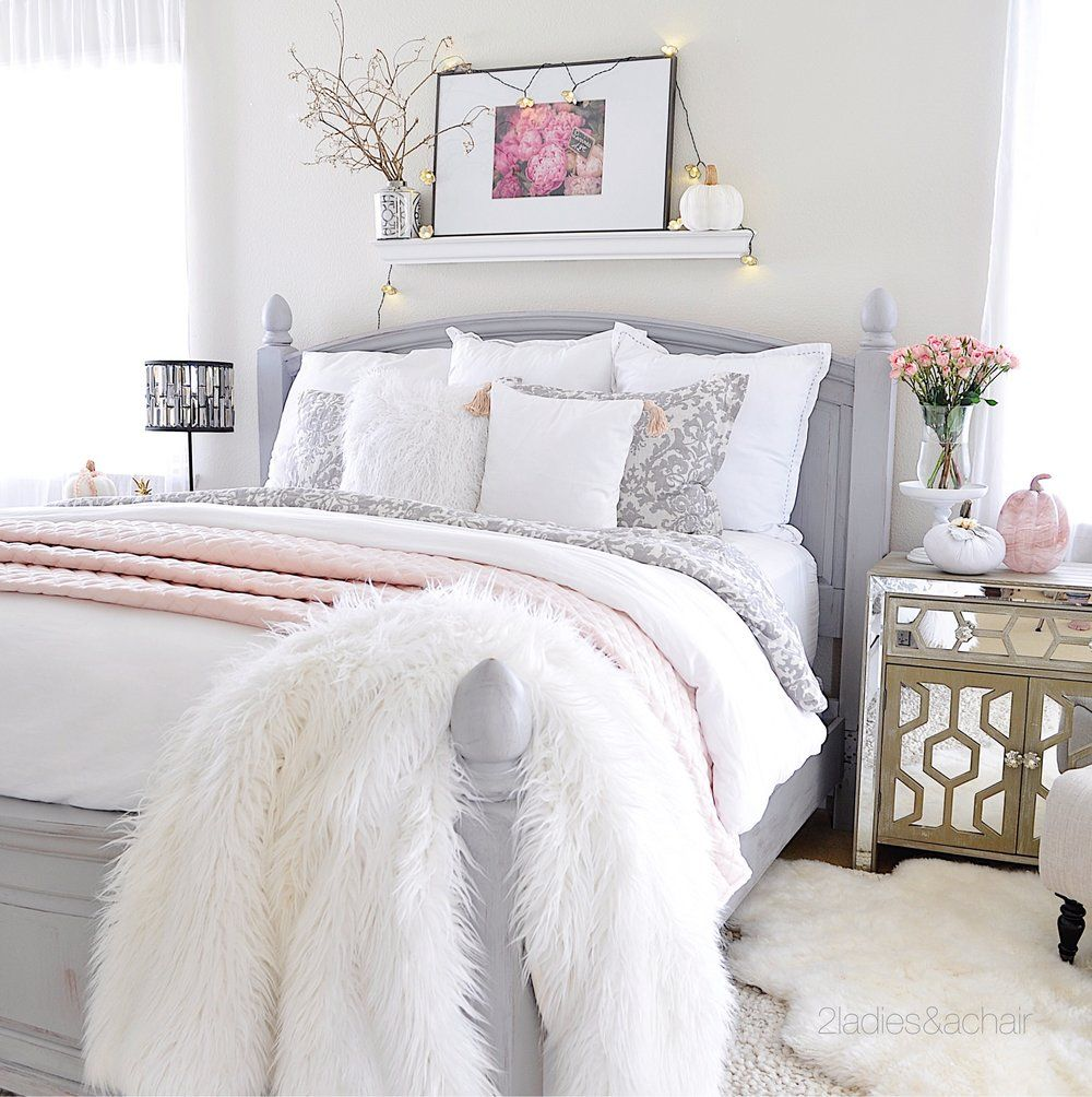 Best Simple Cozy Fall Decorating Ideas For The Bedroom Pink 400 x 300