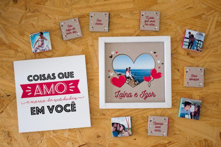 8bb70f9ca58df Presente para Namorado: Caixa Namoro à Distância   Ideias   Presente ...
