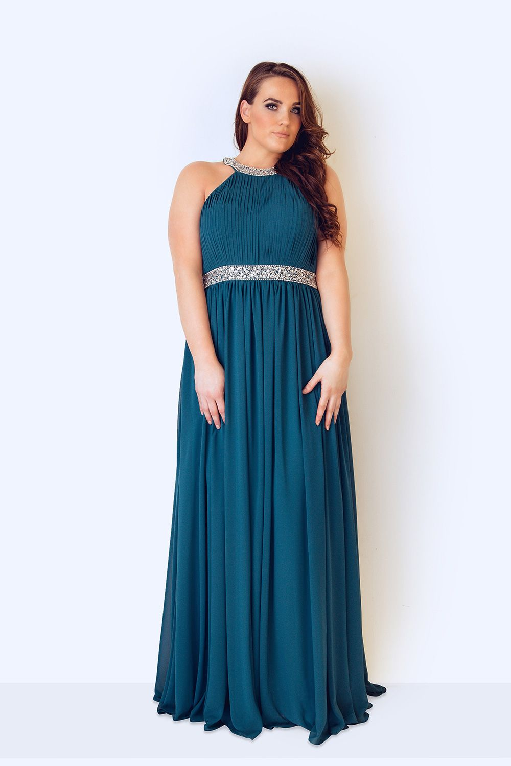 Plus Size evening gowns | Plus size jersey evening dress Evening ...