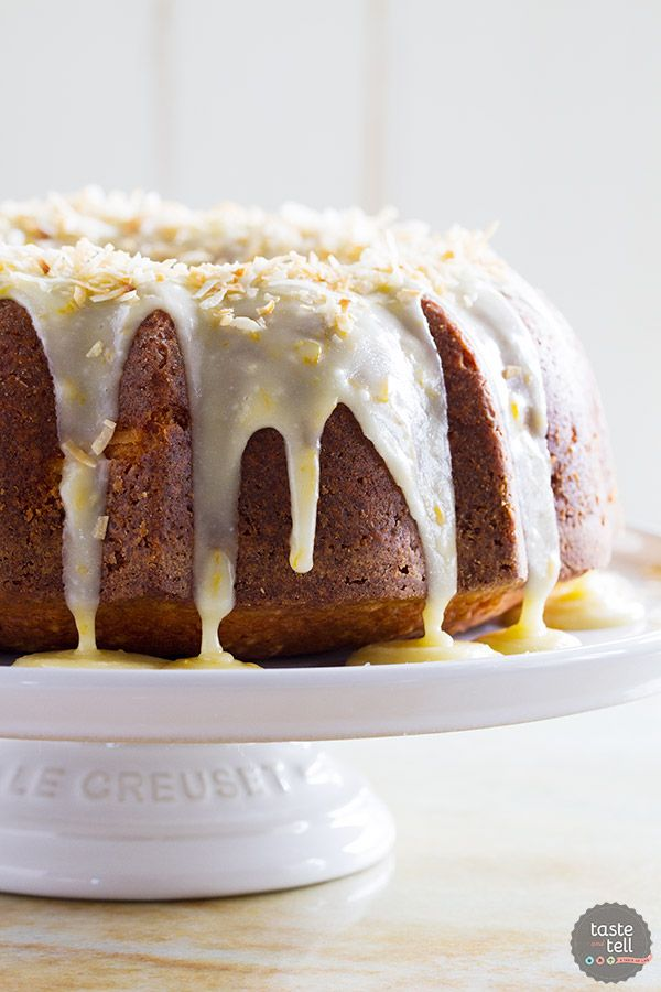 Rich and full of orange and coconut flavors, this Coconut Orange Pound Cake takes a classic recipe and gives it is tropical makeover.