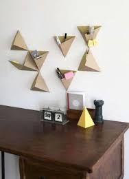 Bildergebnis f r origami wall spiegel basteln und for Origami zimmer deko