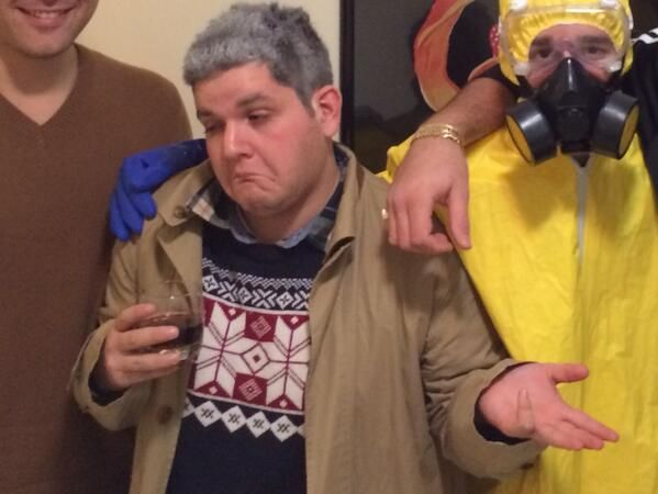 Drunk uncle costume