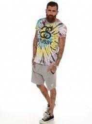 Tie Die Link T-Shirt in Multi-Color