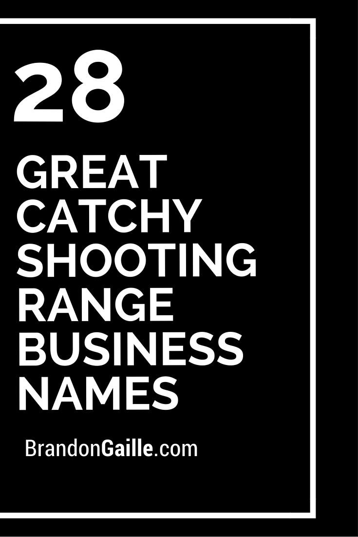 good catchy comedy club business s comedy business and s 28 great catchy shooting range business s