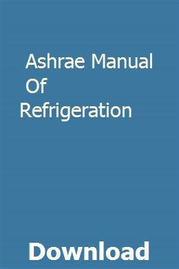 Refrigerant charging and service procedures for air conditioning book