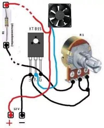 Snelheidsregelaar Electronic Circuit Projects Electronics Projects Diy Electronics Basics