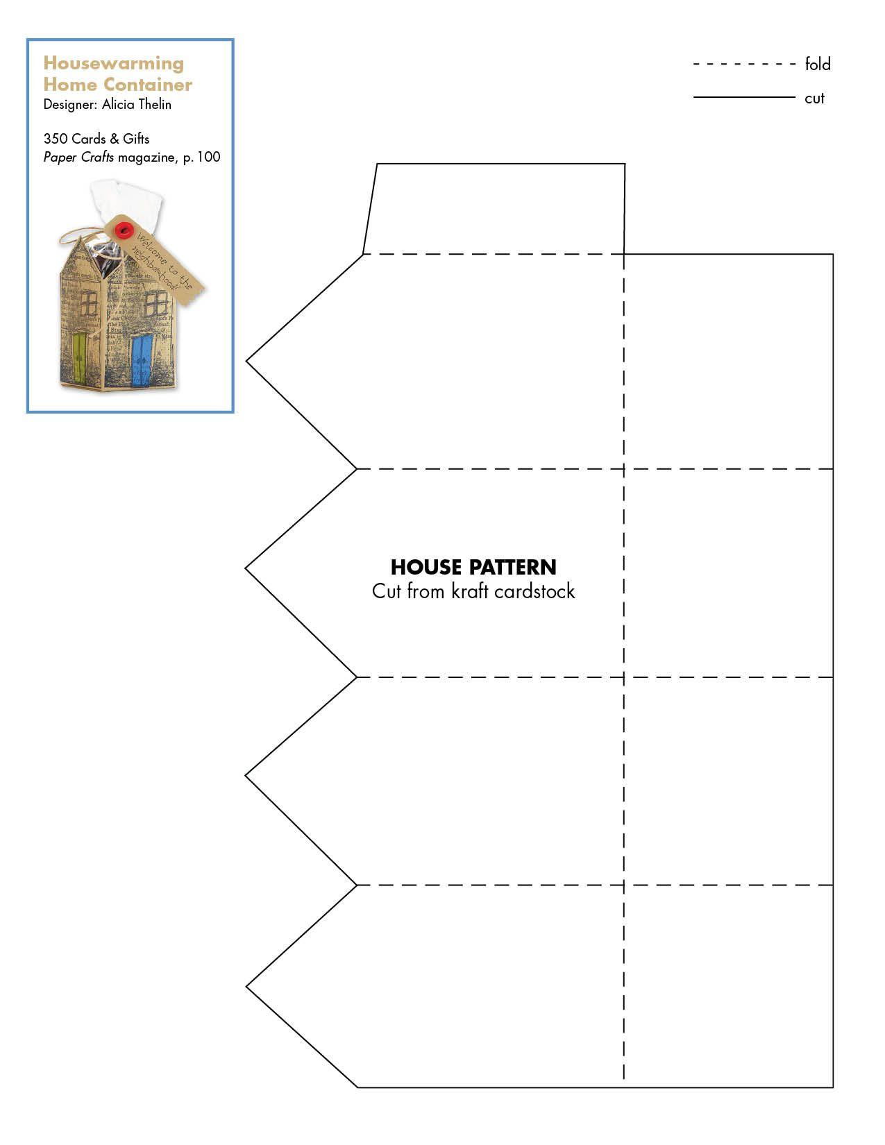 Housewarming_Home_Container.jpg (1275×1650) | Templates | Pinterest ...